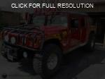 AM General Hummer red #1