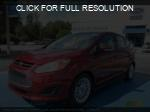 Ford C-Max Hybrid red #1