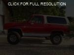 GMC Jimmy red #1