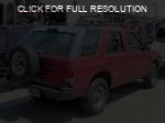 Isuzu Rodeo Sport red #2