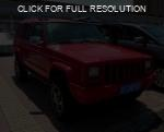 Jeep Cherokee red #3