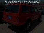 Jeep Cherokee red #1