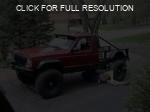 Jeep Comanche red #2