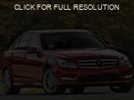 Mercedes-Benz C-Class red #2