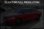 Mercedes-Benz S-Class red #2