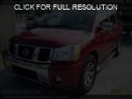 Nissan Armada red #3