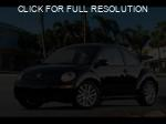 Volkswagen New Beetle black #4