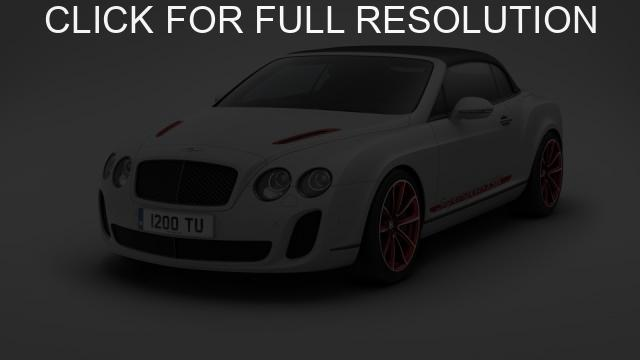 Bentley Continental Supersports Convertible #2