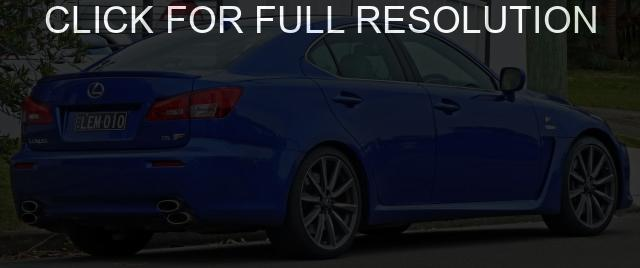 Lexus IS F #13