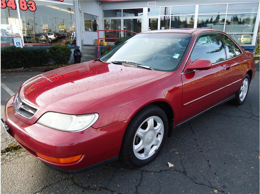 Acura CL red #2
