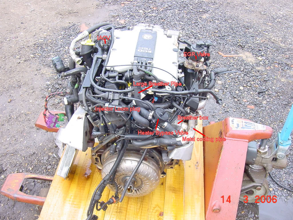 Acura SLX engine #2