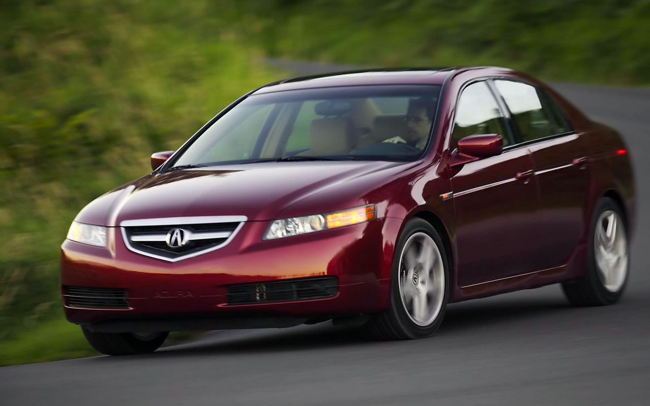 Acura TL red #2
