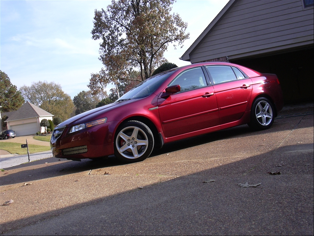 Acura TL red #1
