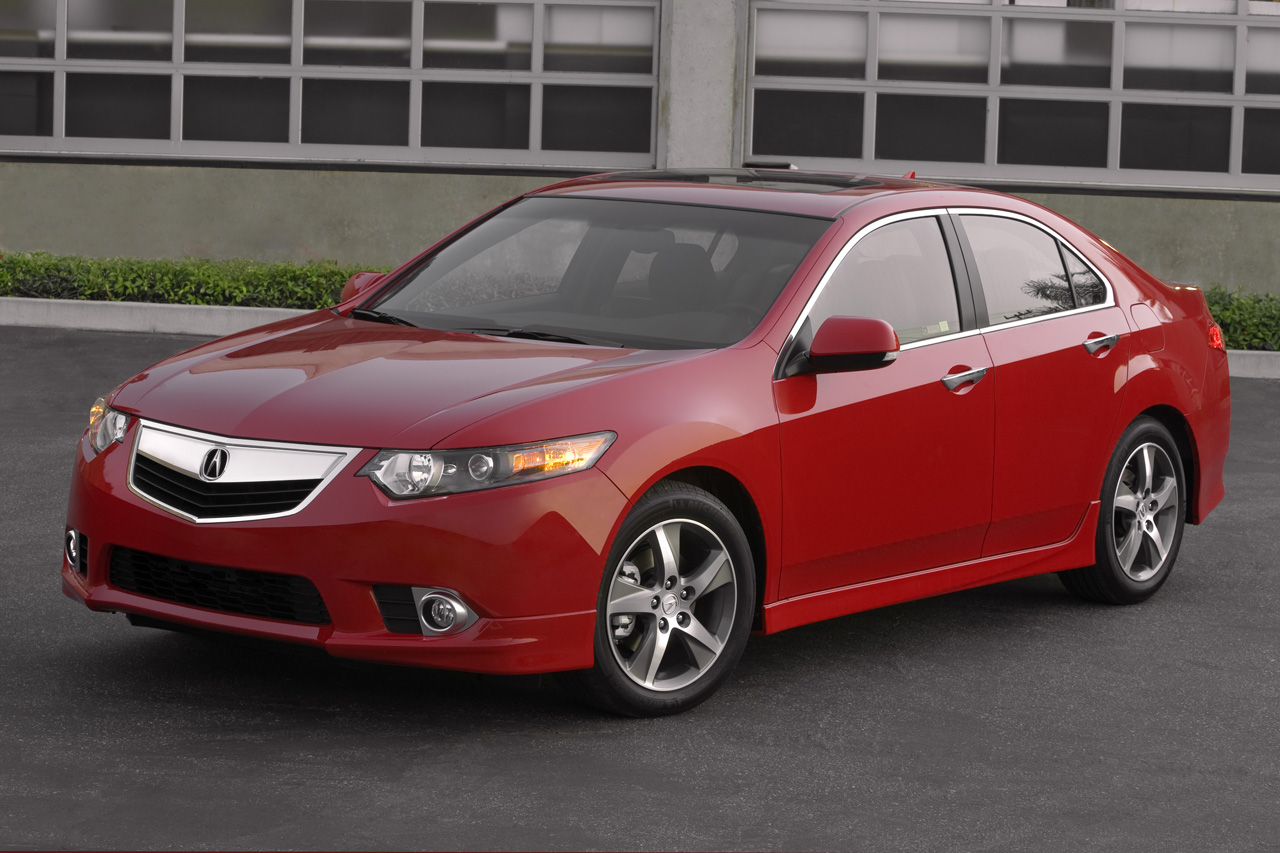 Acura TSX red #2