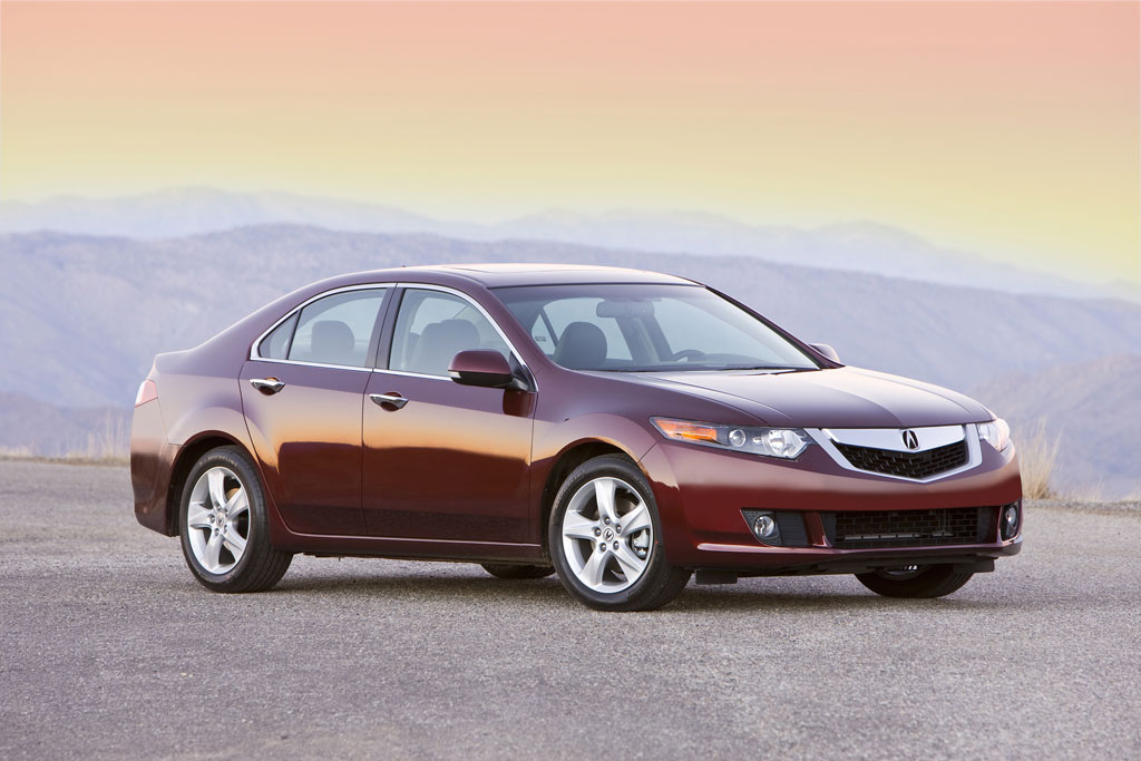 Acura TSX red #3