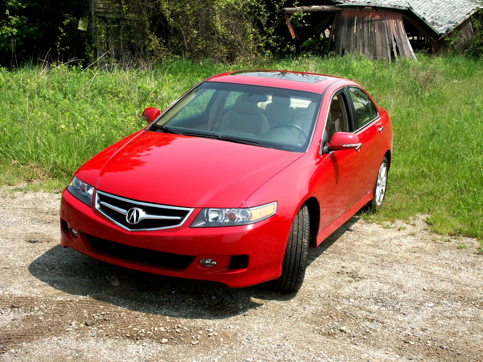 Acura TSX red #4