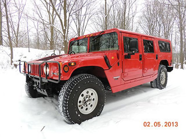 AM General Hummer red #2