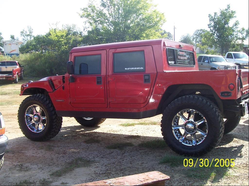 AM General Hummer red #3