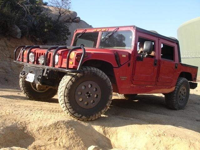 AM General Hummer red #4