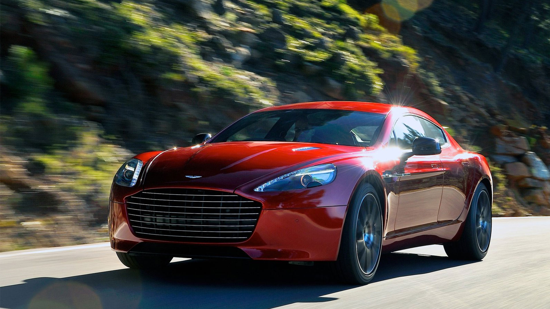 Aston Martin Rapide red #4
