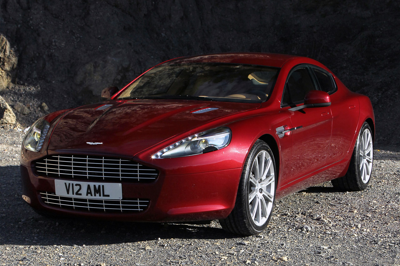 Aston Martin Rapide red #5