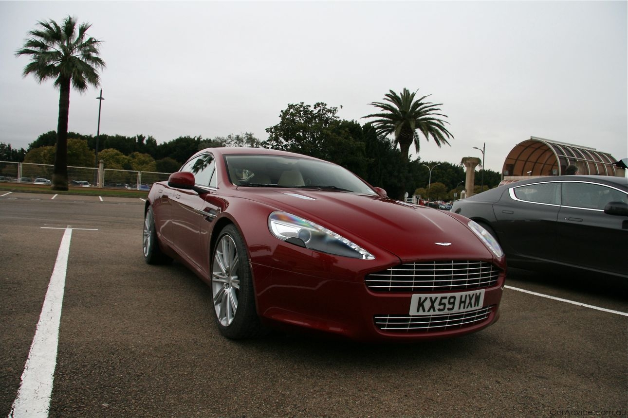 Aston Martin Rapide red #1