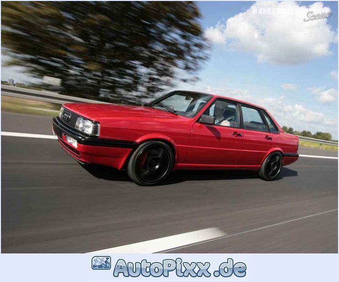 Audi 90 red #1