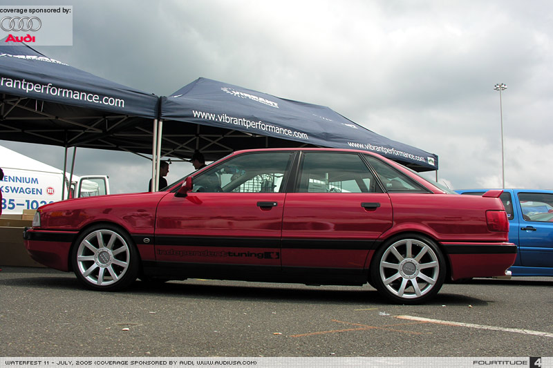 Audi 90 red #3