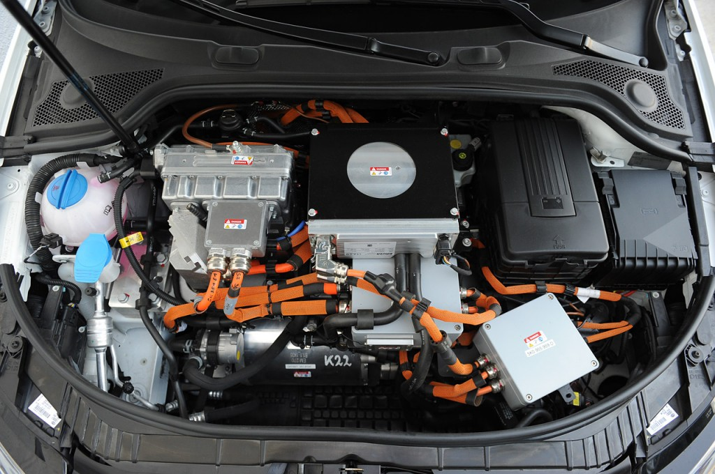 Audi A3 e-tron engine #4