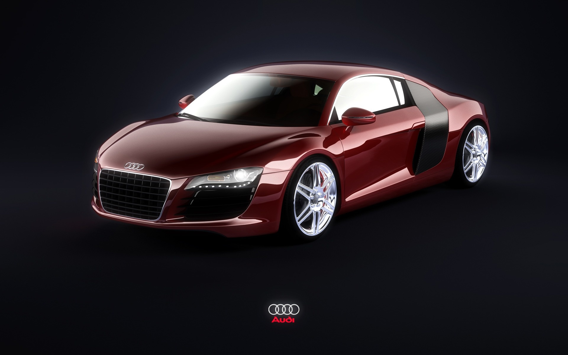 Audi A8 red #1