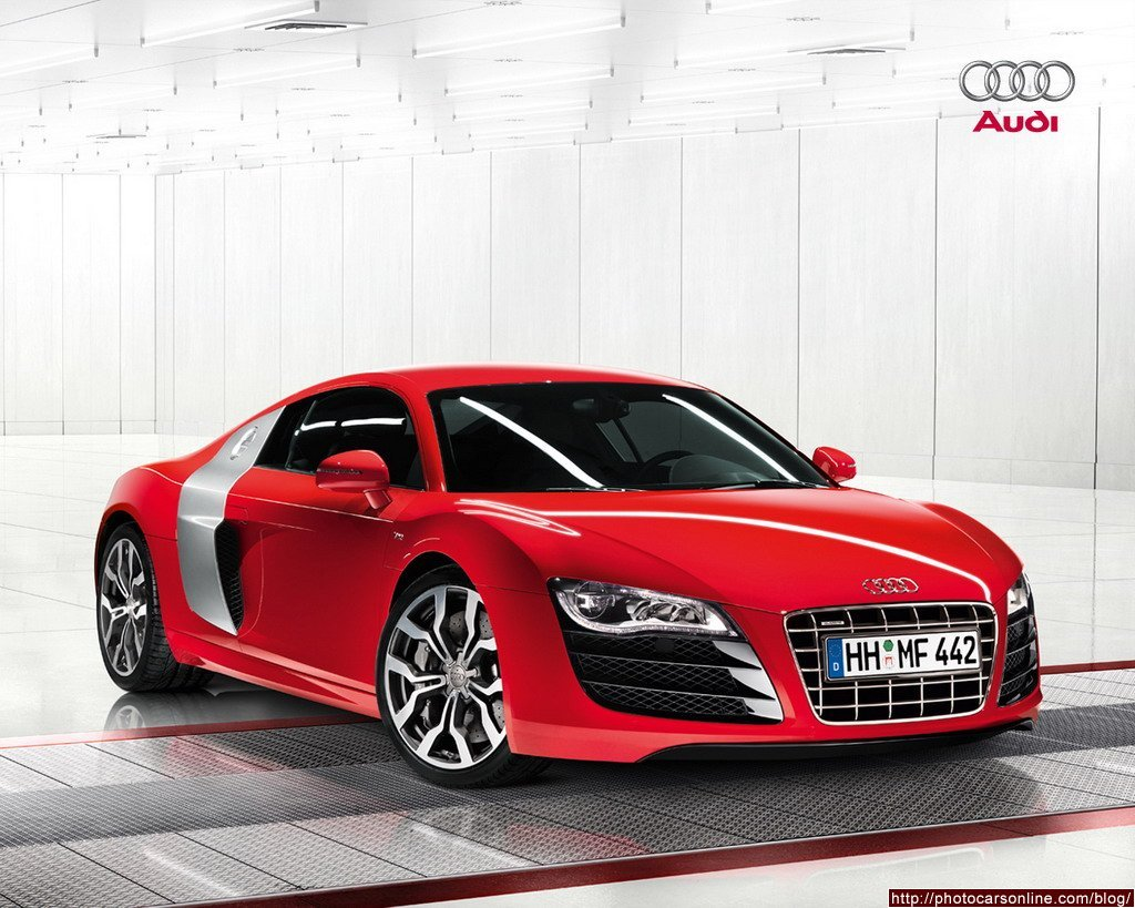 Audi A8 red #3