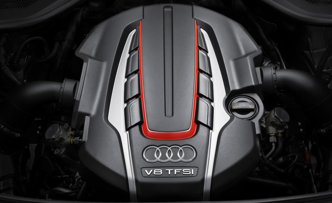 Audi RS7 engine #1