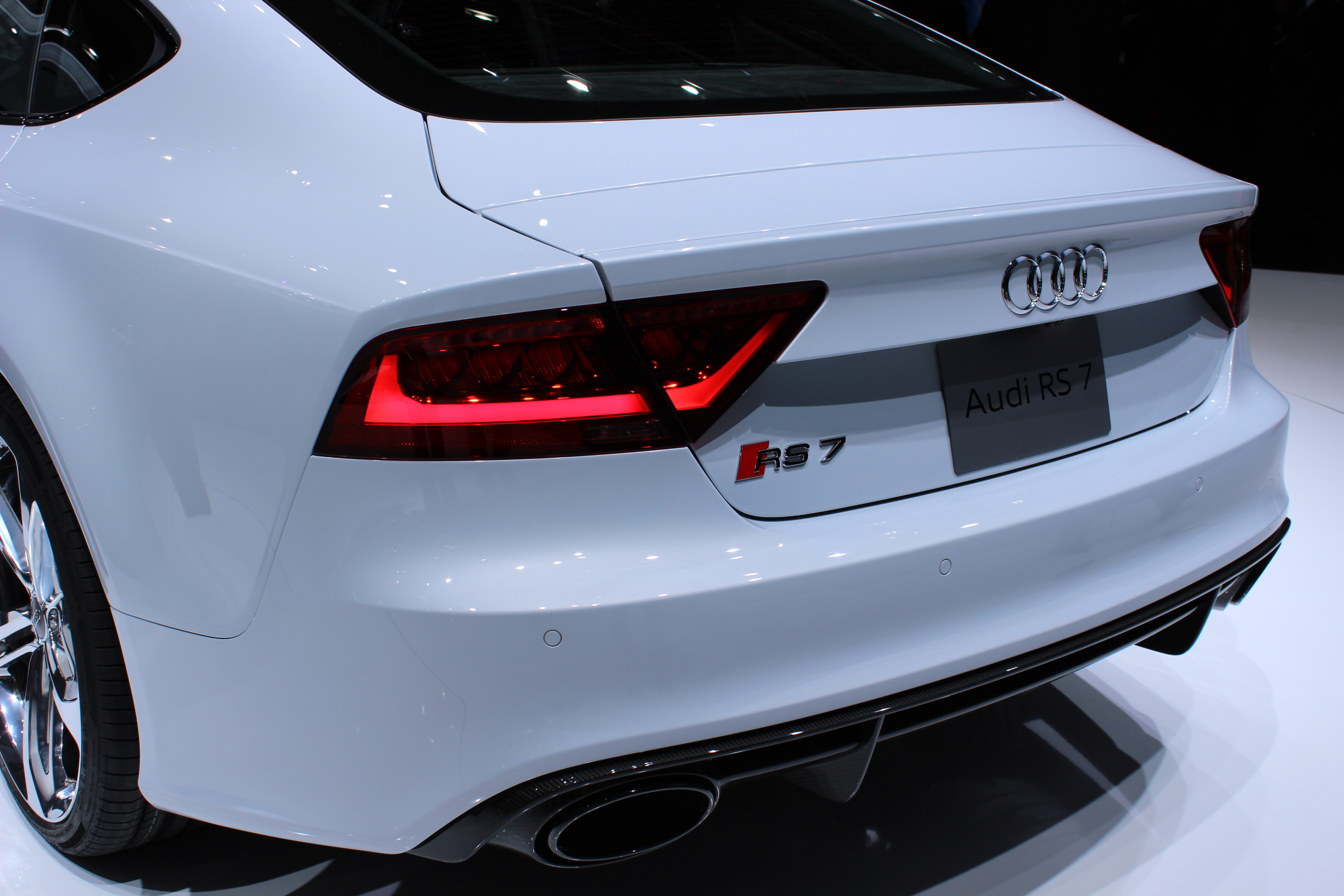 Audi RS7 engine #2