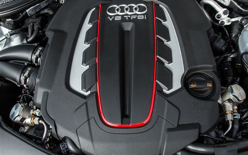 Audi RS7 engine #4