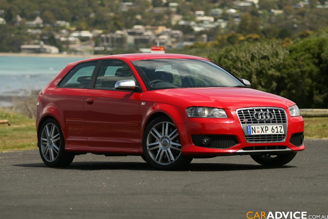 Audi S3 red #1