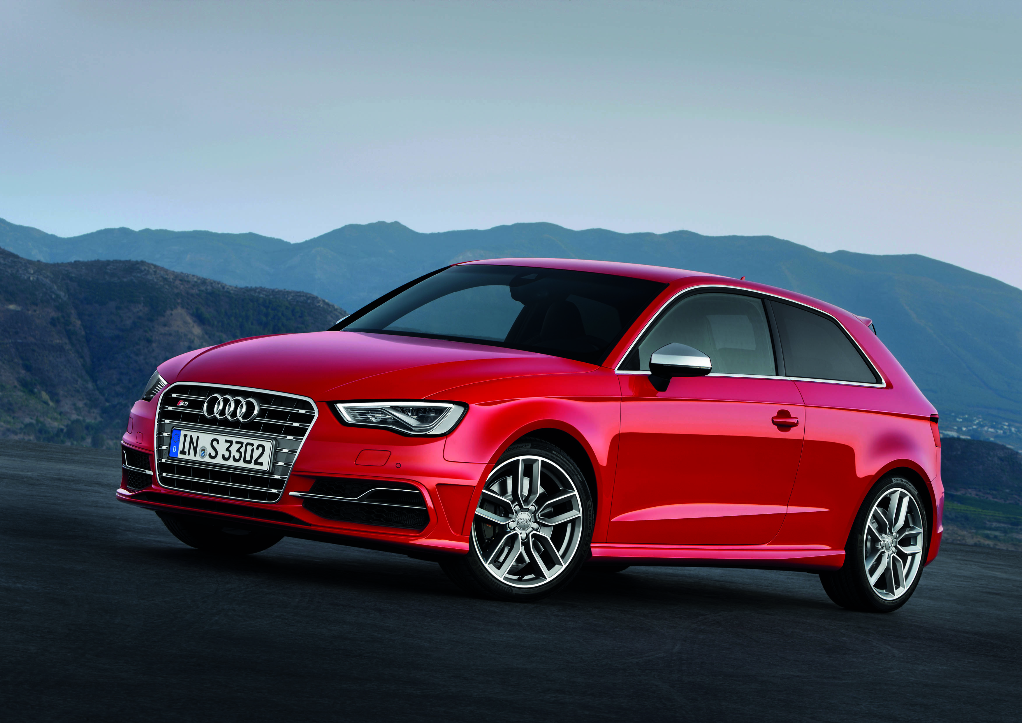 Audi S3 red #2
