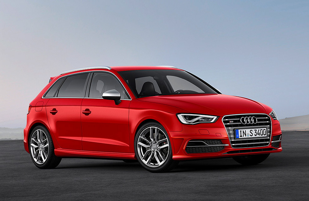 Audi S3 red #3