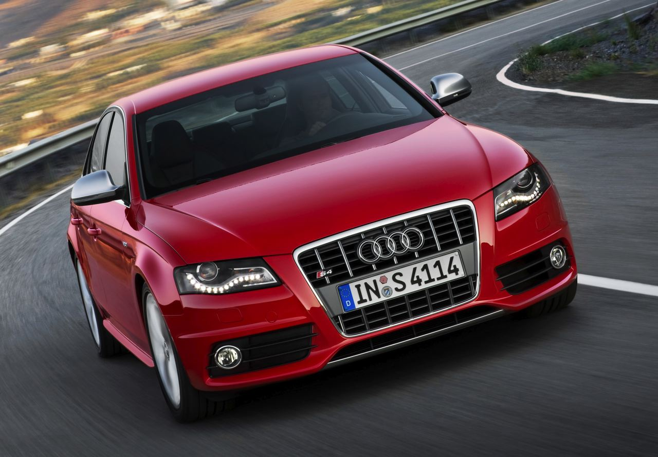 Audi S4 red #1