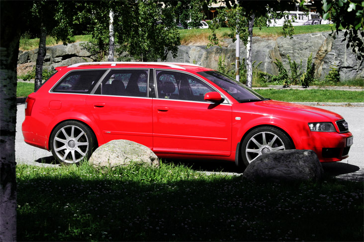 Audi S4 red #3