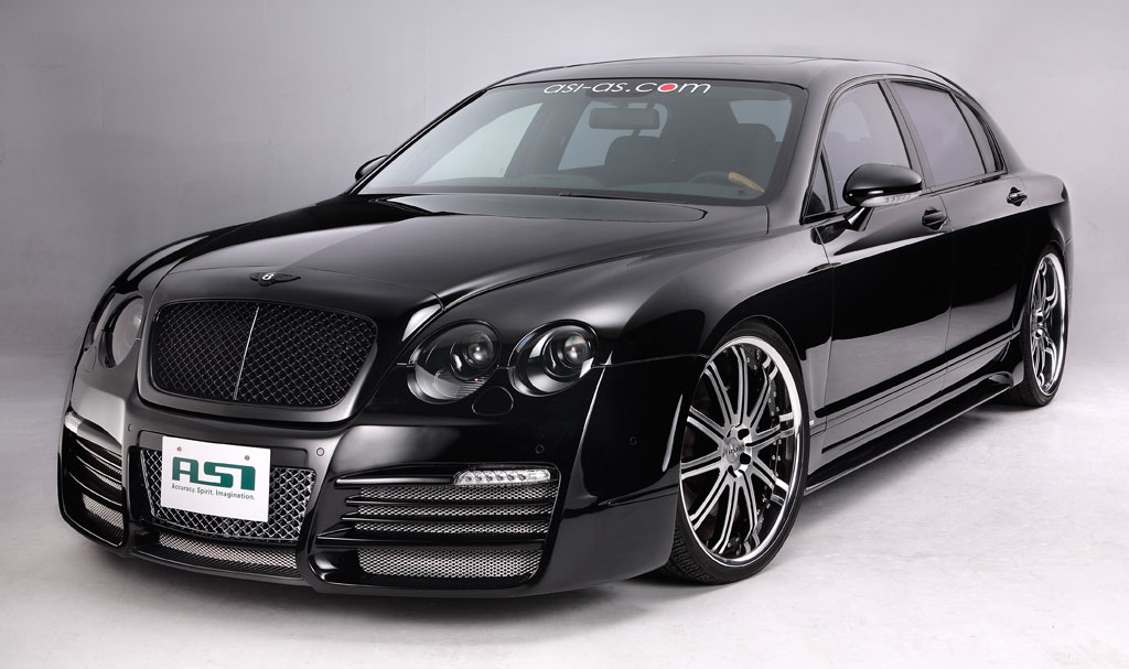 Bentley Continental Flying Spur black #1