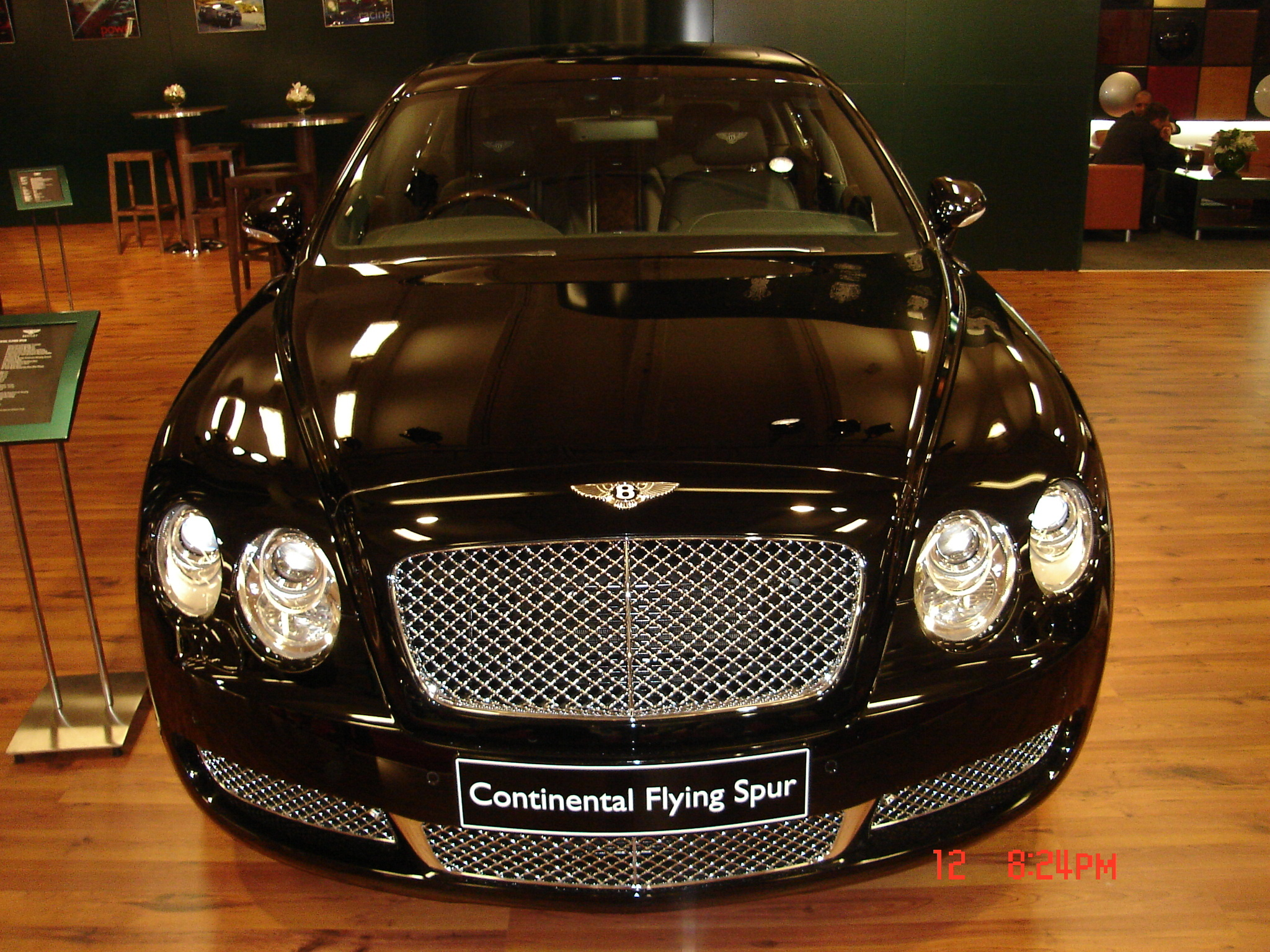 Bentley Continental Flying Spur black #2