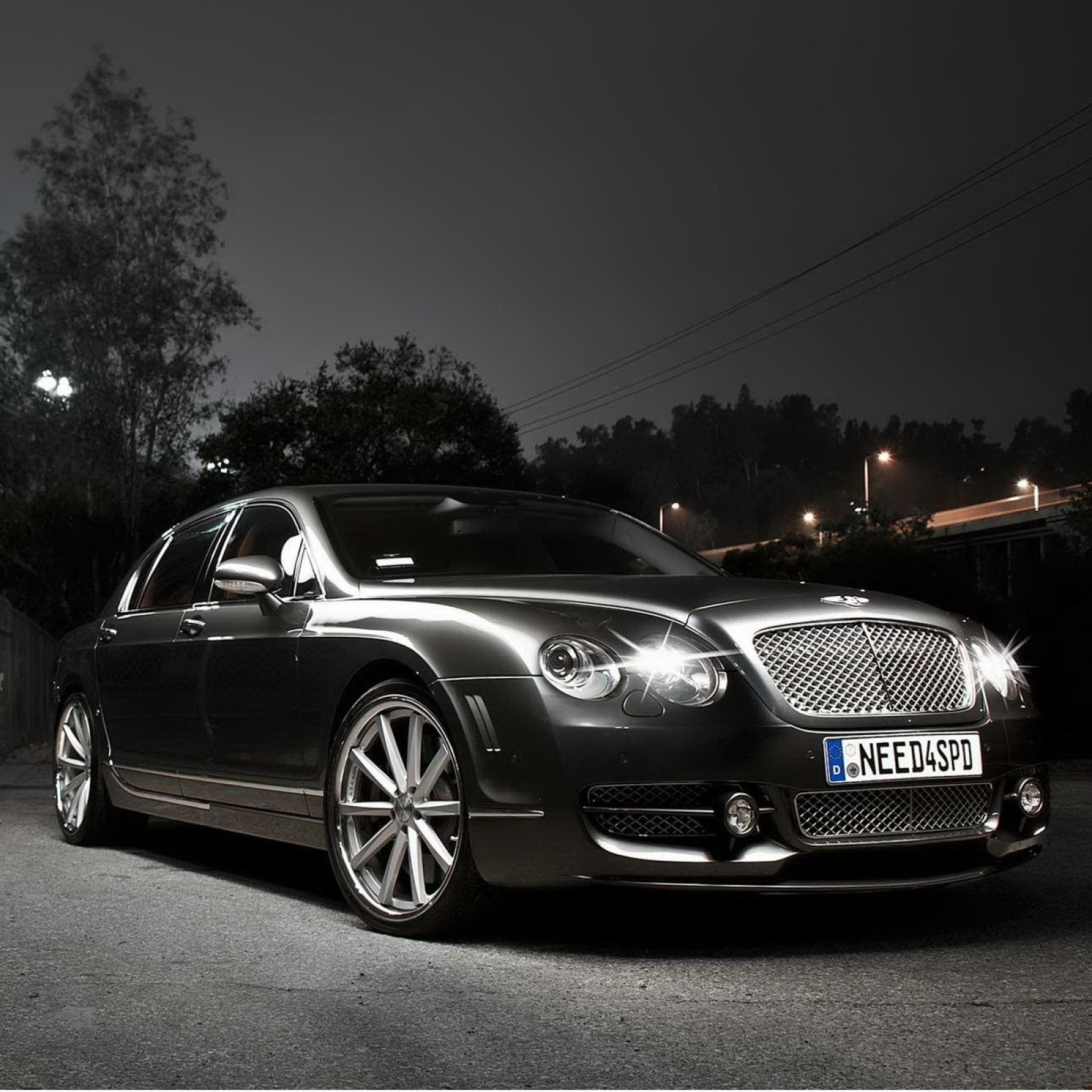 Bentley Continental Flying Spur black #3