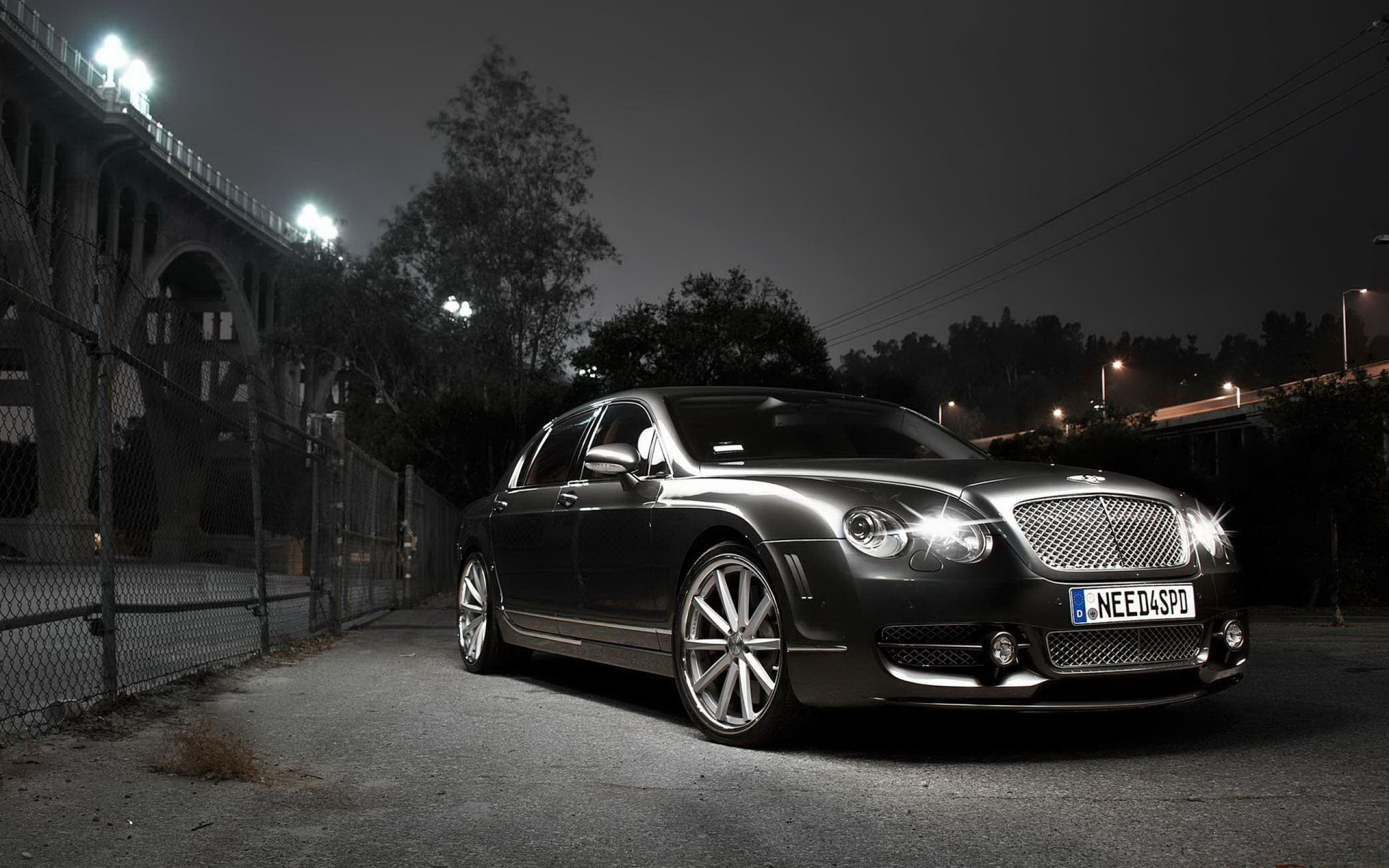 Bentley Continental Flying Spur black #4