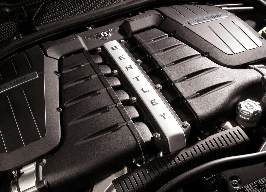 Bentley Continental Flying Spur engine #1