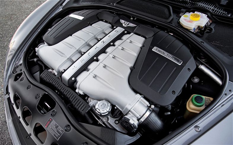 Bentley Continental Flying Spur engine #2
