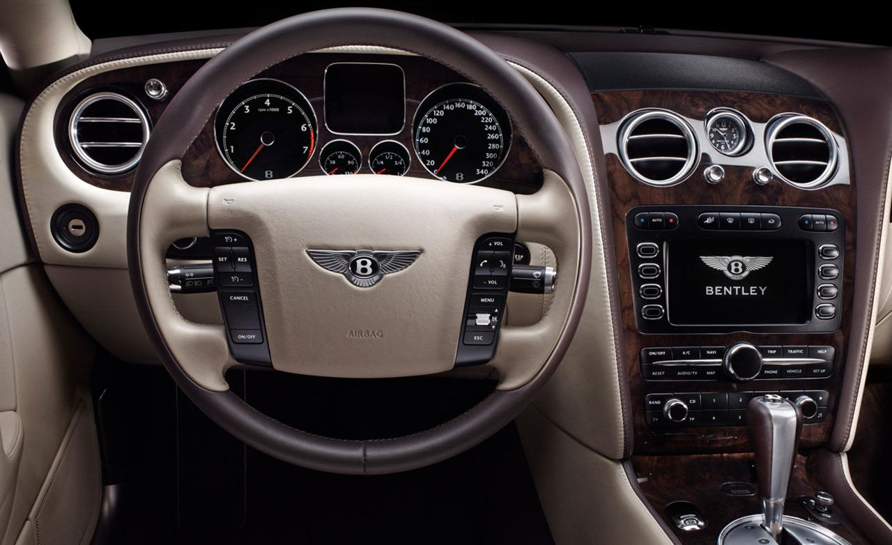 Bentley Continental Flying Spur interior #1
