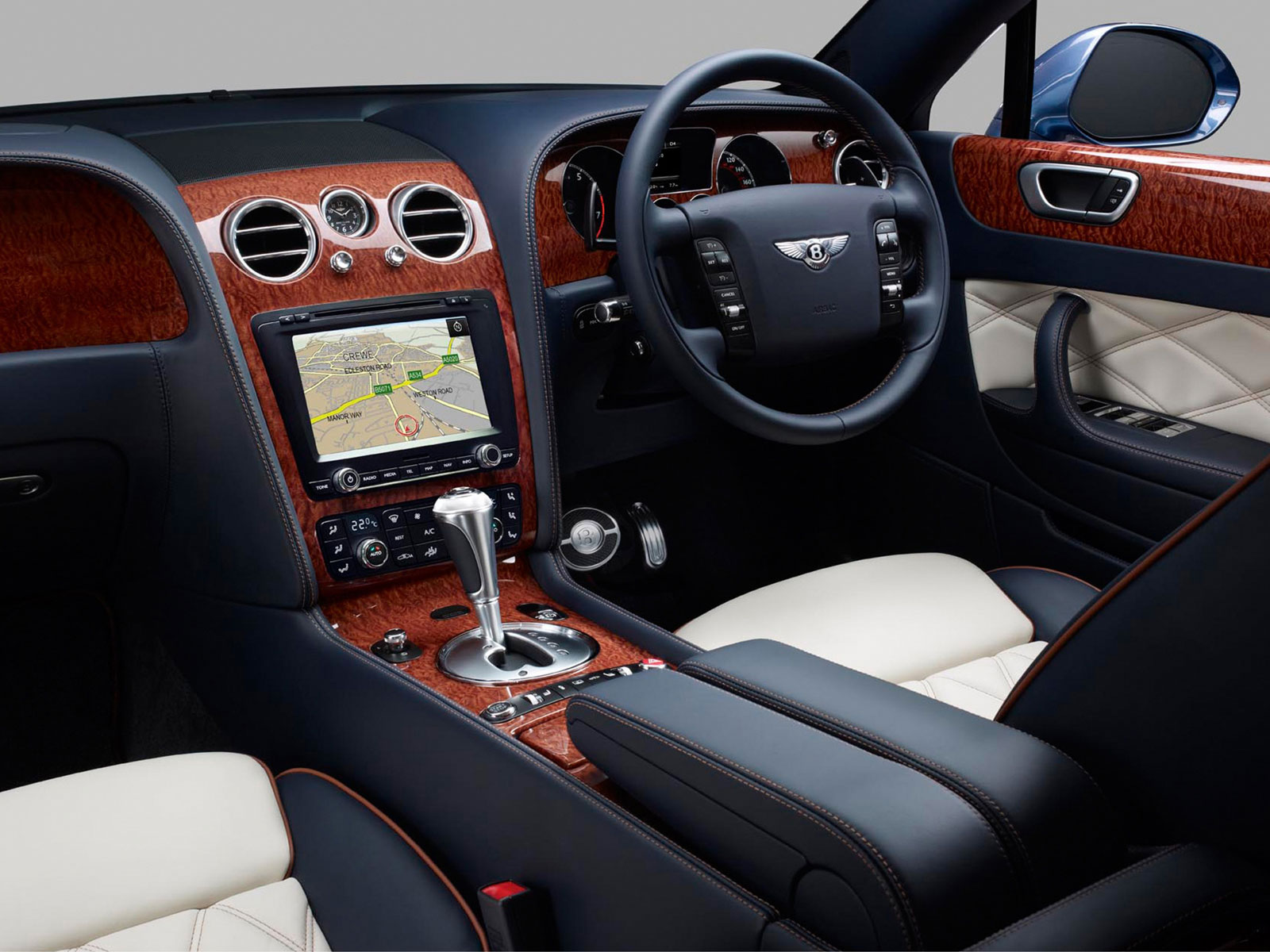 Bentley Continental Flying Spur interior #2
