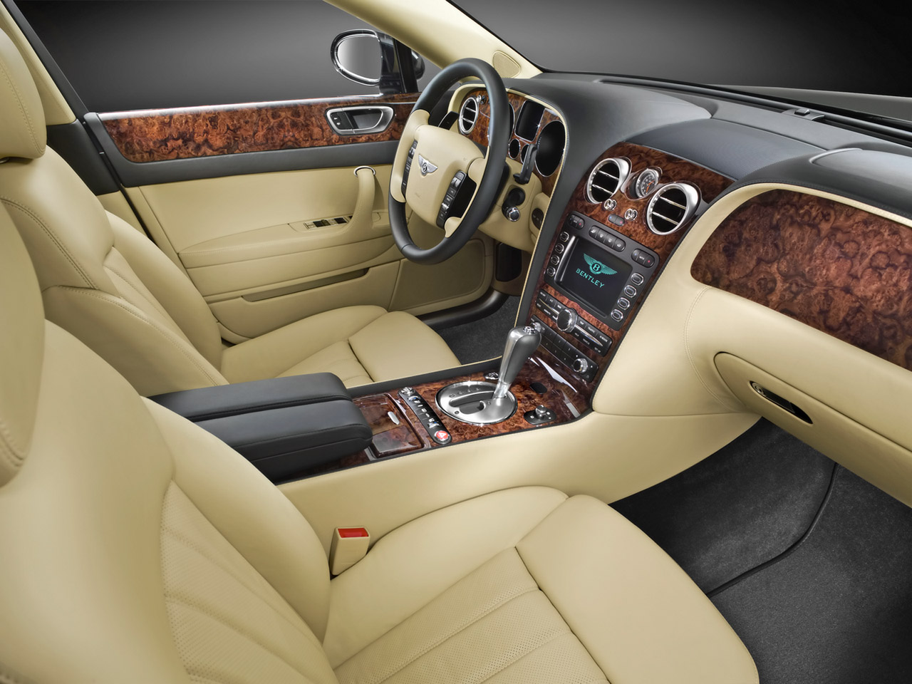 Bentley Continental Flying Spur interior #4