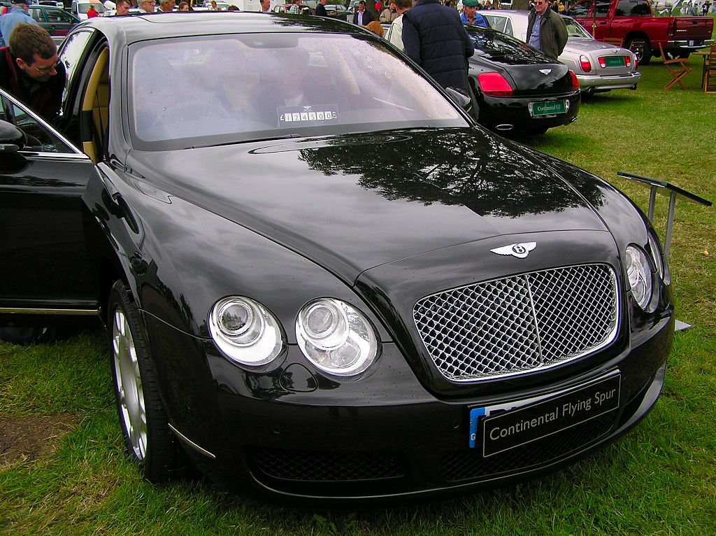 Bentley Continental Flying Spur red #1