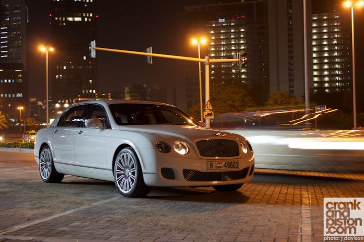 Bentley Continental Flying Spur red #3